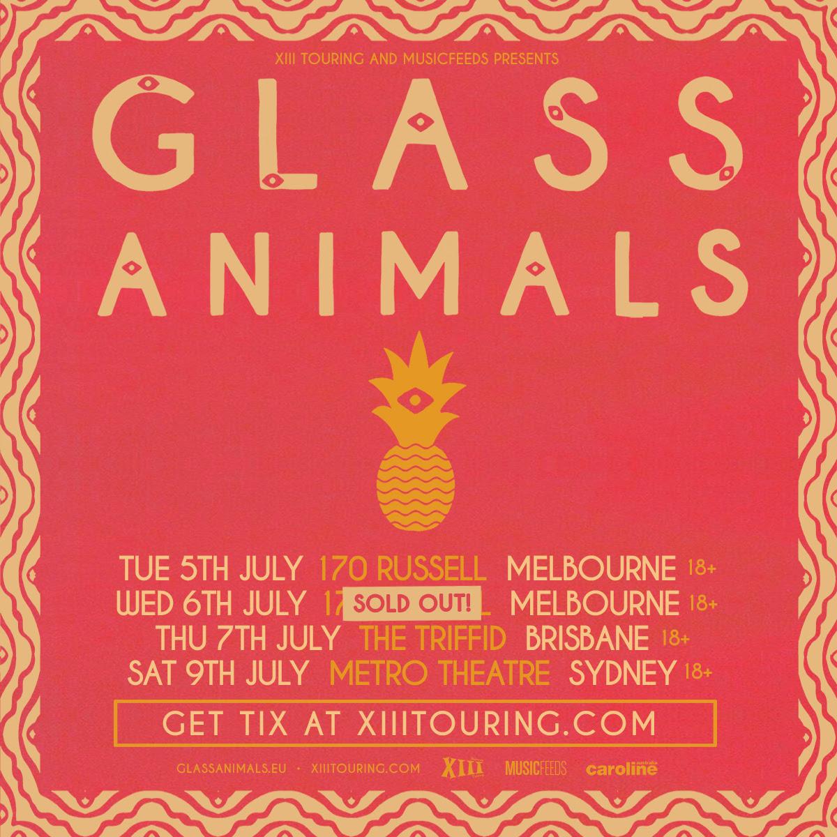 Glass Animals 2016