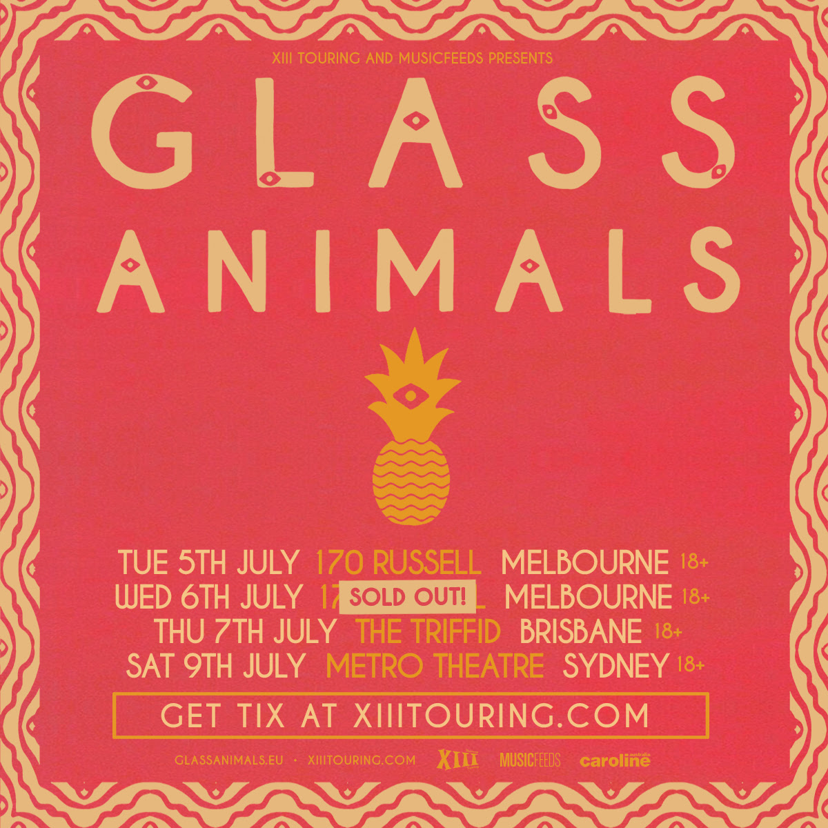 Glass Animals 2016